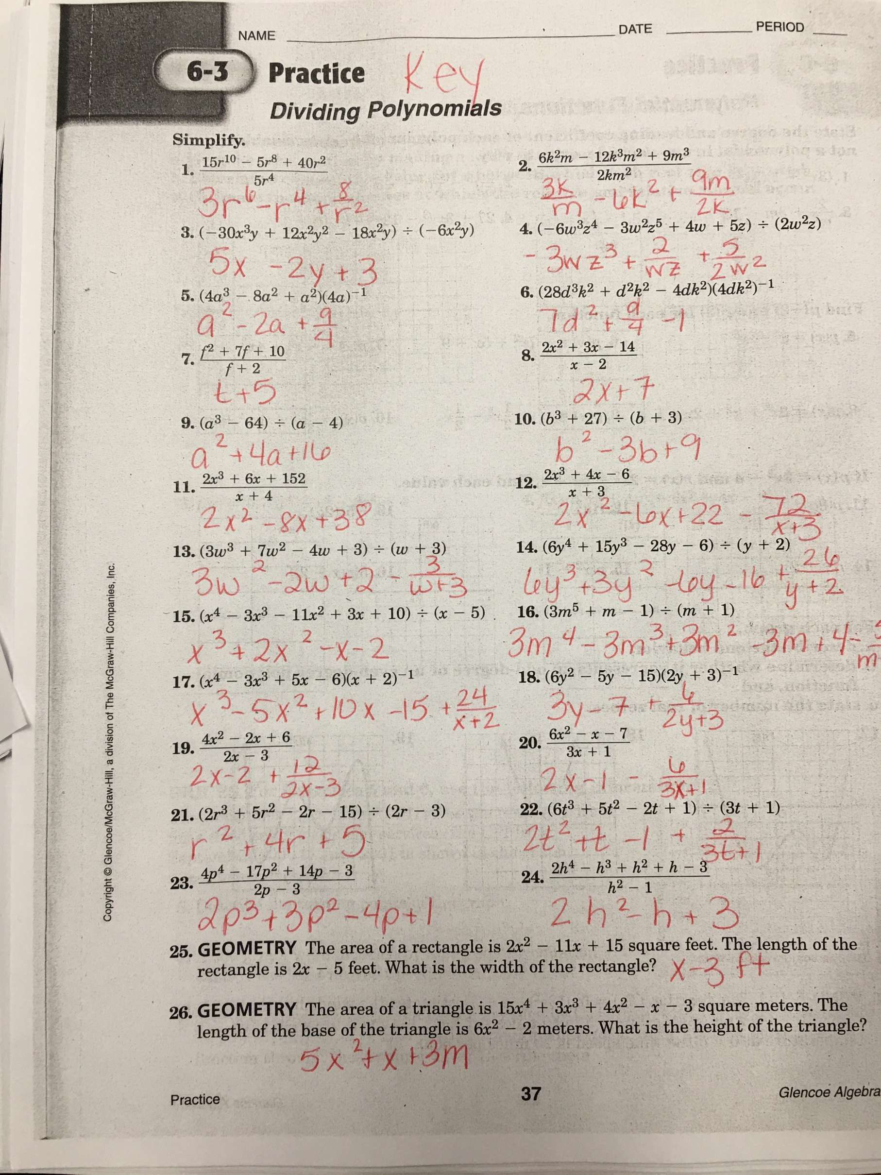 9 Big Ideas Math Algebra 2 Worksheet Answers