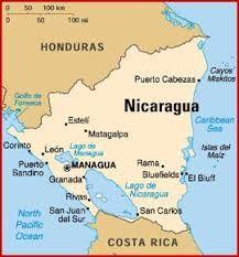 Resultado De La Imagen Para Mapa De Nicaragua Y Su Capital Nicaragua Travel Managua Nicaragua