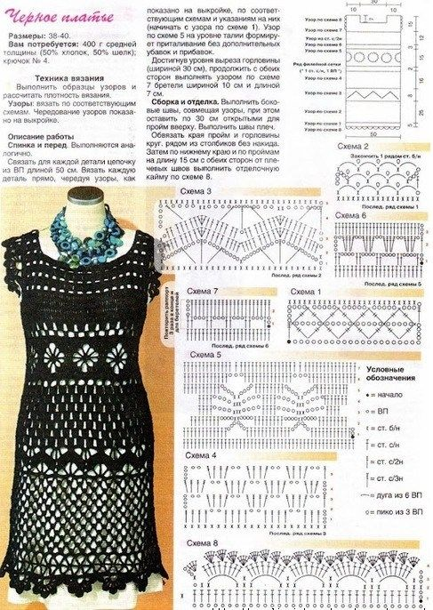 crochet dress diagram #crochetdress