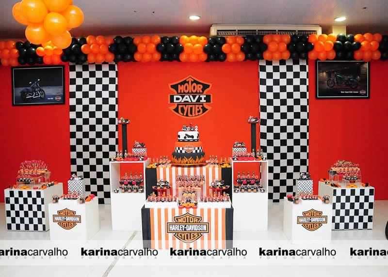 Harley Davidson Party