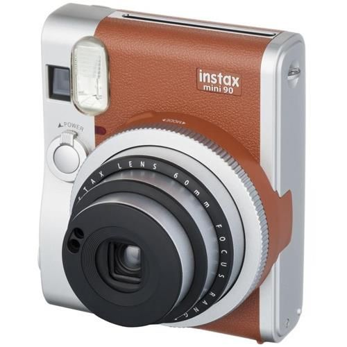 68f6df404c5f3 Polaroid · Fujifilm Instax Mini 90 Neo Classic (Castanho)
