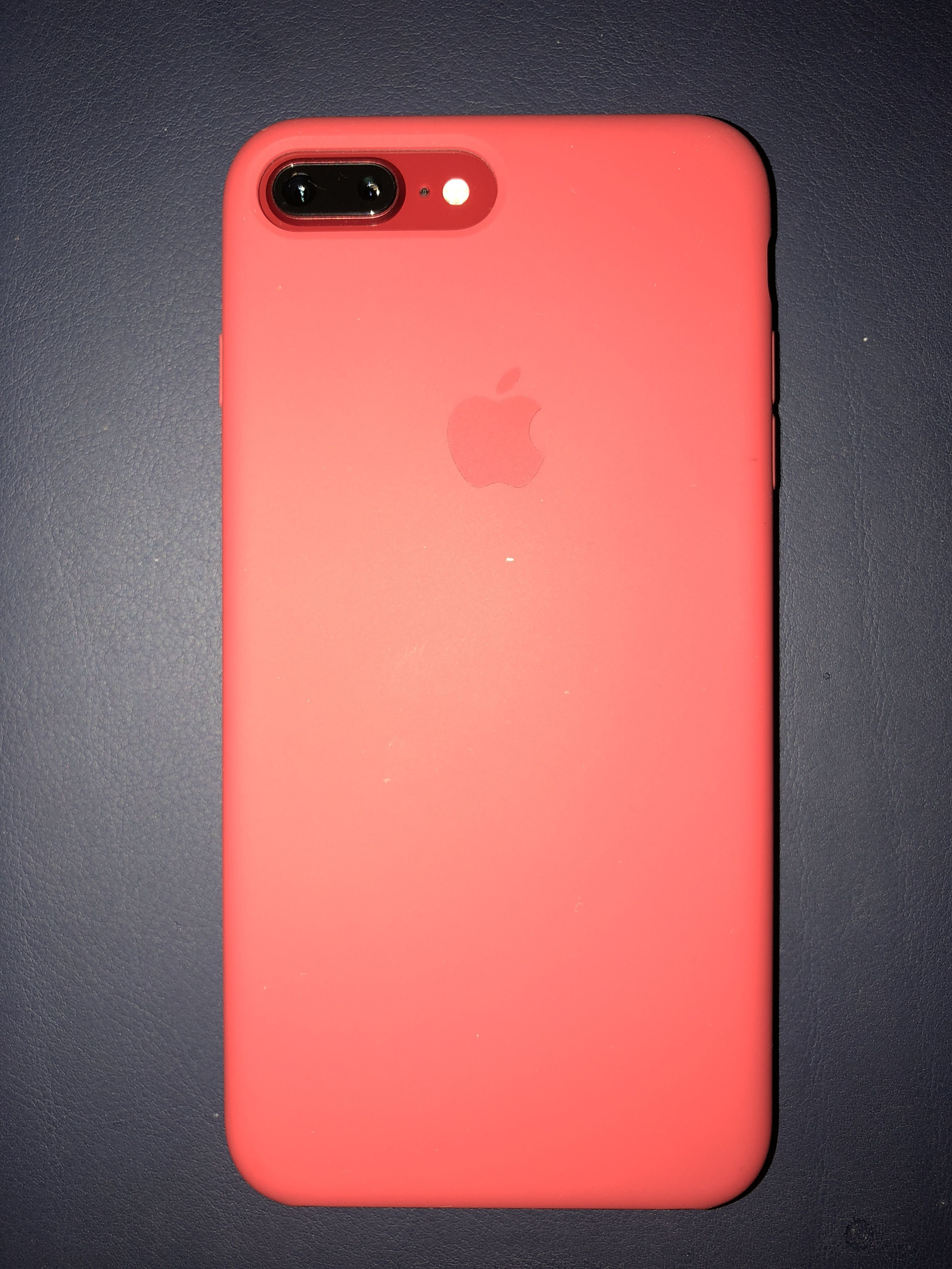 Productrediphone8plus Product Red Iphone 8 Plus With Product Red Silicone Case Iphone7plus Iphone Phone Cases Red Iphone Case Iphone