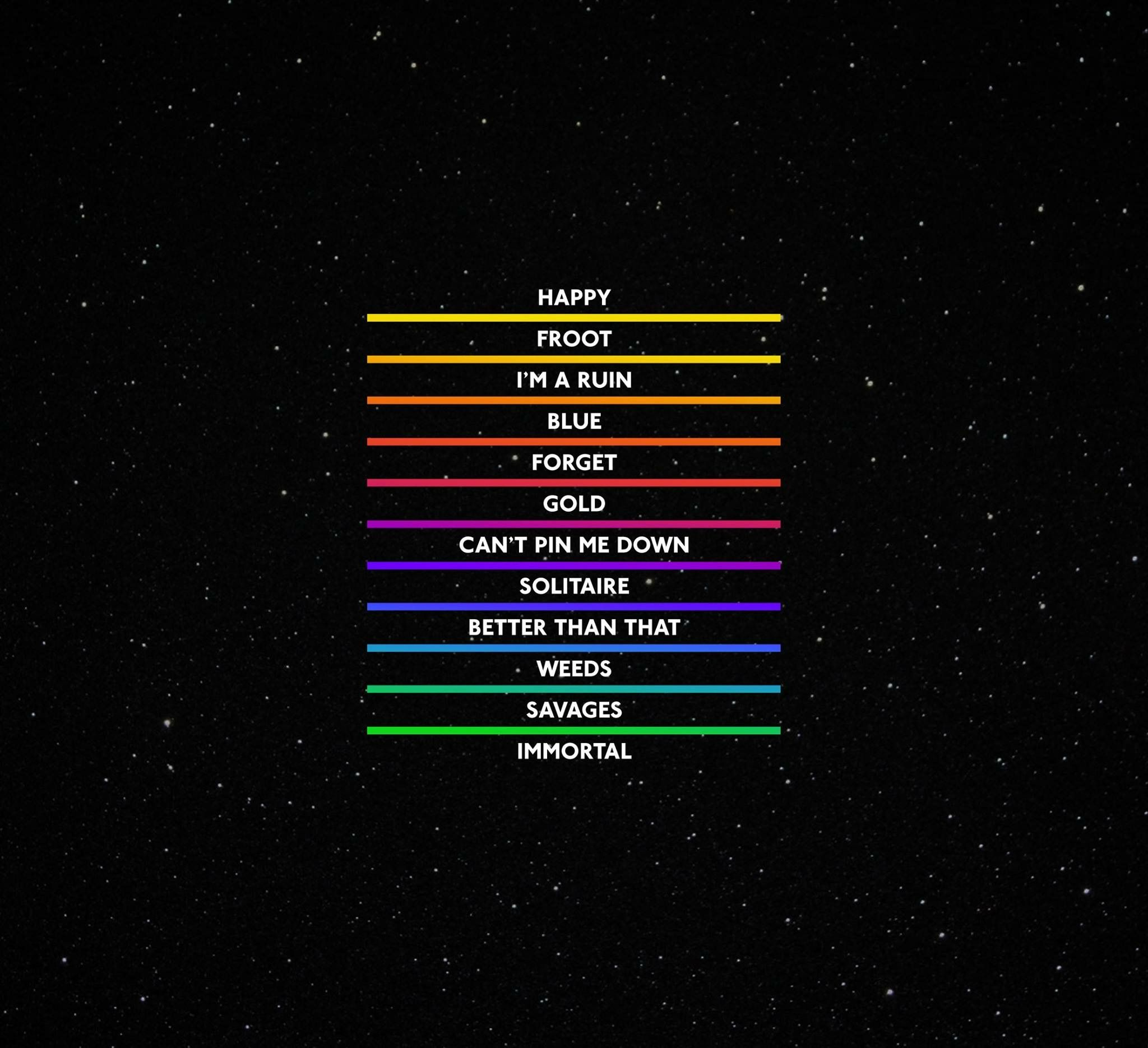 Marina And The Diamonds - Froot tracklist █  MARINA AND THE DIAMONDS ▮on▮ Facebook