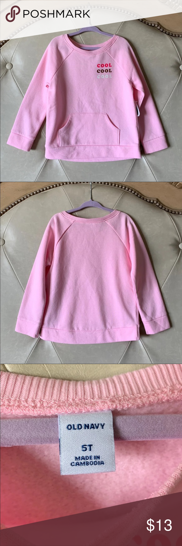 14f07885a9e41 NWT Old Navy Sweatshirt New with tag old navy sweatshirt Size 5t Soft  inside Old Navy