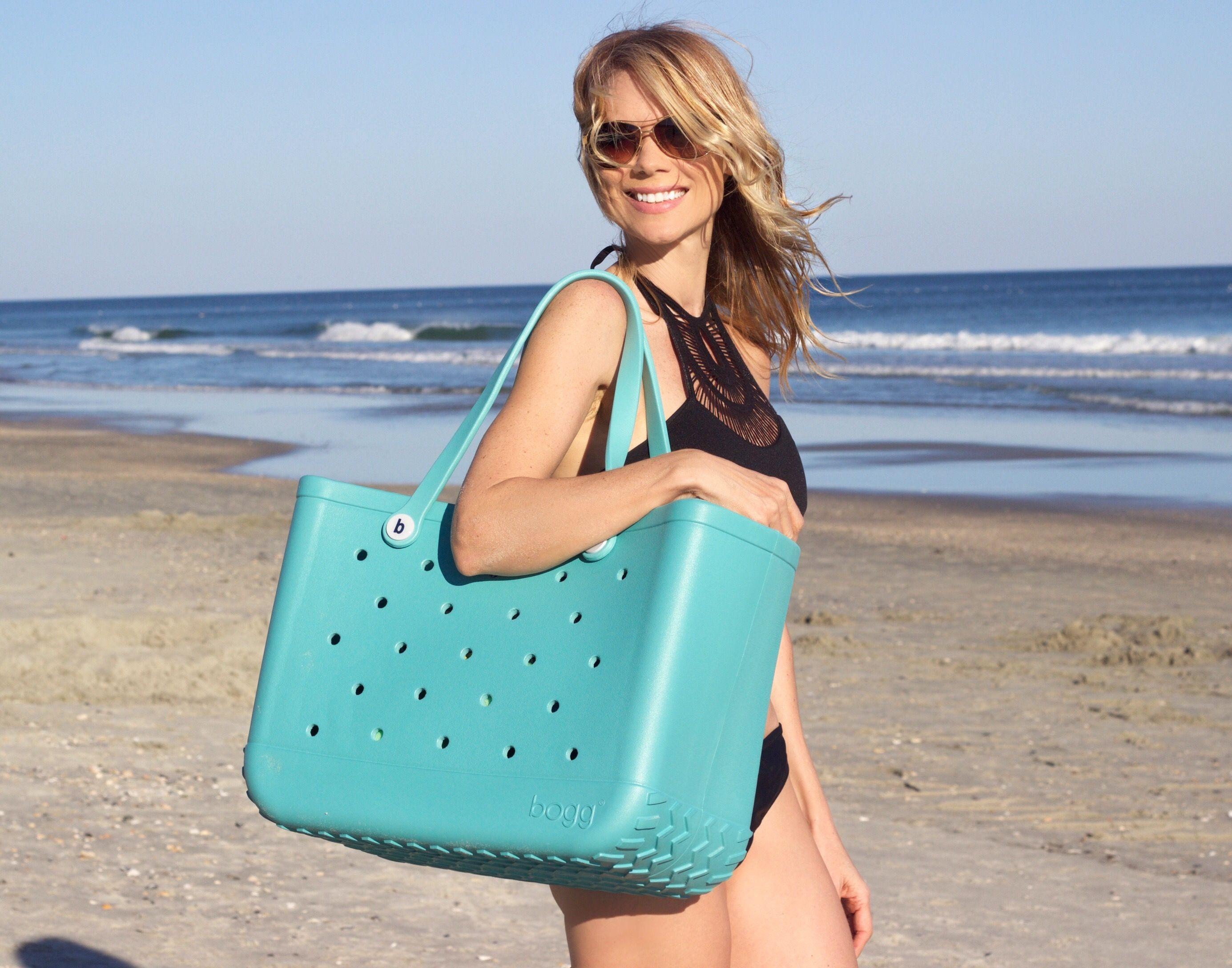 Best.Beach.Bag.Ever #boggbag #turquoise #totebag #bestbeachbagever ...