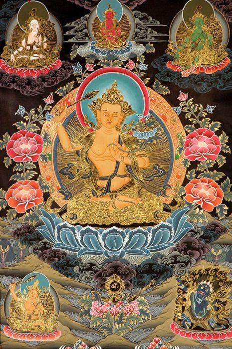 Manjushri is the principle guardian and patron of Astrologers.