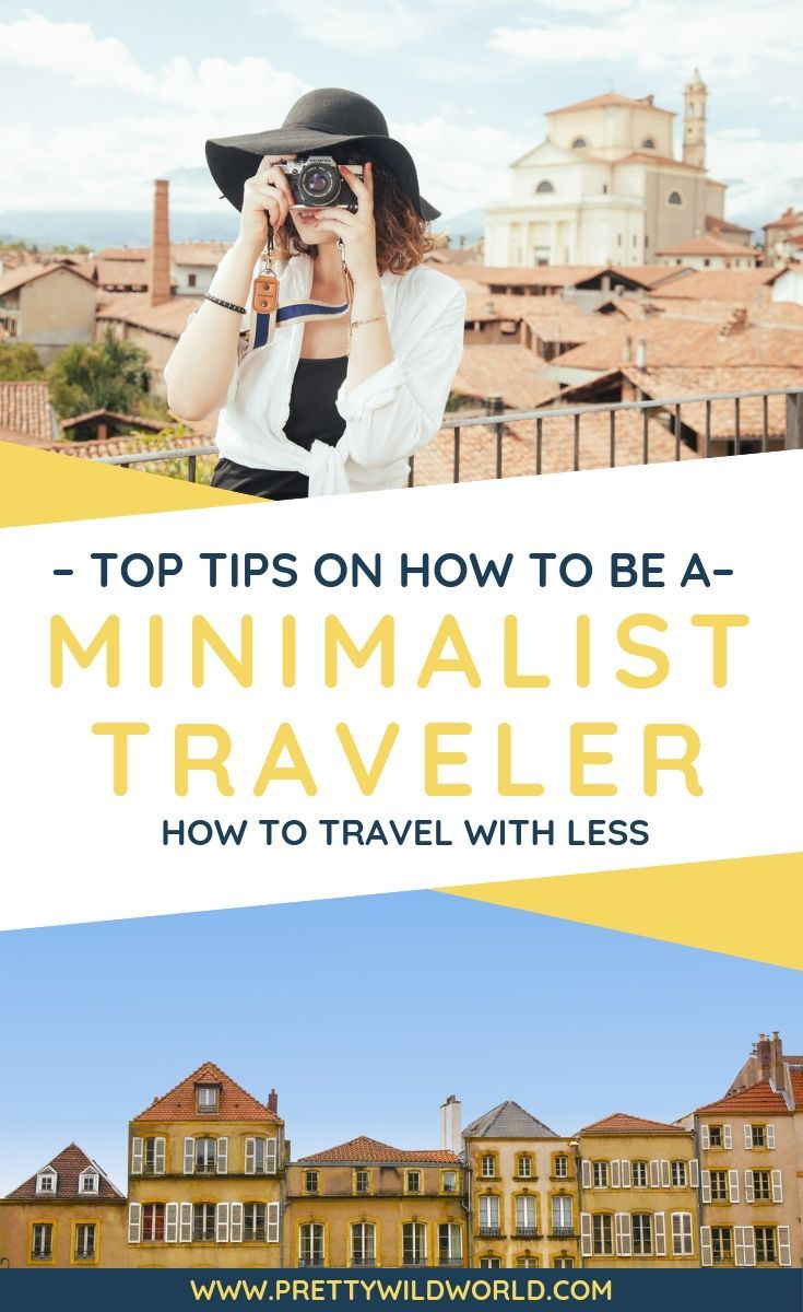 Backpacking Minimalist: How to Travel with Less (Minimalist Travel) #travelwardrobesummer