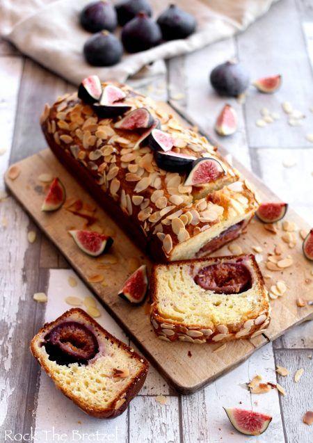 Cake salé aux figues, chèvre et miel   Cake salé, Alimentation, Recettes de boissons