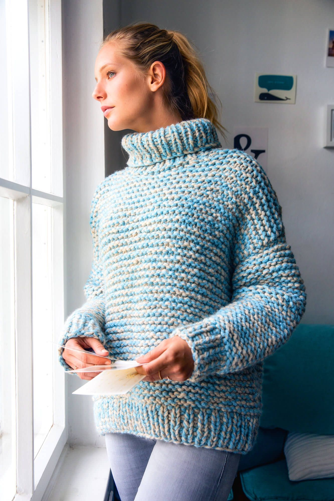 Seaside Outdoor Pullover – kostenlose Strickanleitung – Stricken im Winter – #Ko…