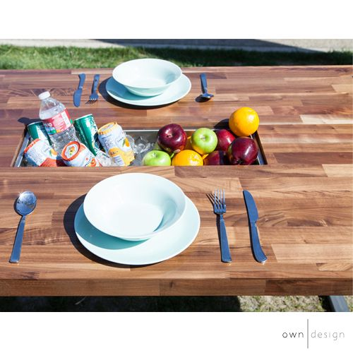 The KITA multi-functional dinning table is now available! With its sleek modern look with a luxury wood finish with metal legs fits great in any room!