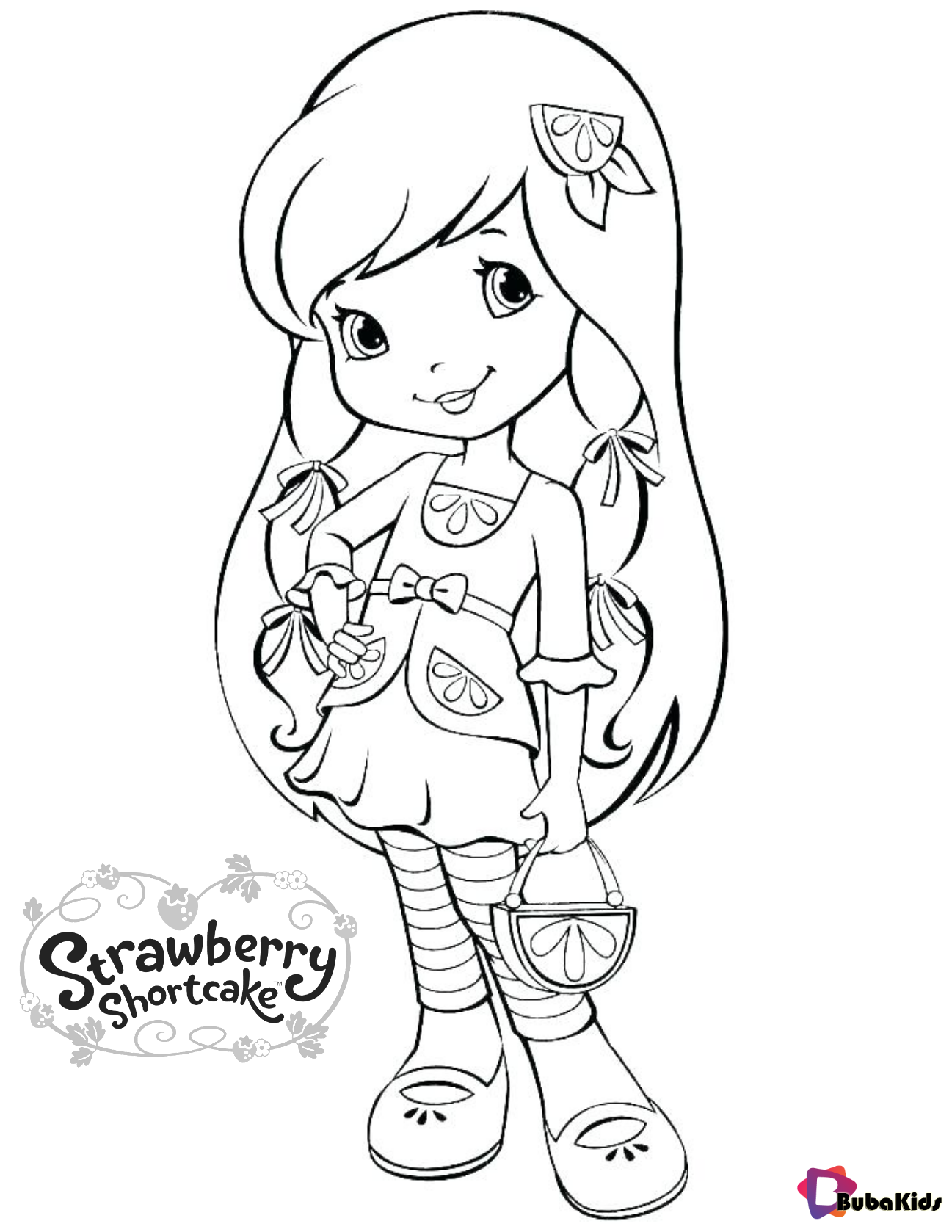 Plum Pudding Strawberry Shortcake Character Free Printable Coloring Page Bubakids Com Plum Strawberry Shortcake Coloring Pages Coloring Pages Coloring Books