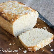 Sugar Free Lemon Coconut Pound Cake {Low Carb and Grain Free}