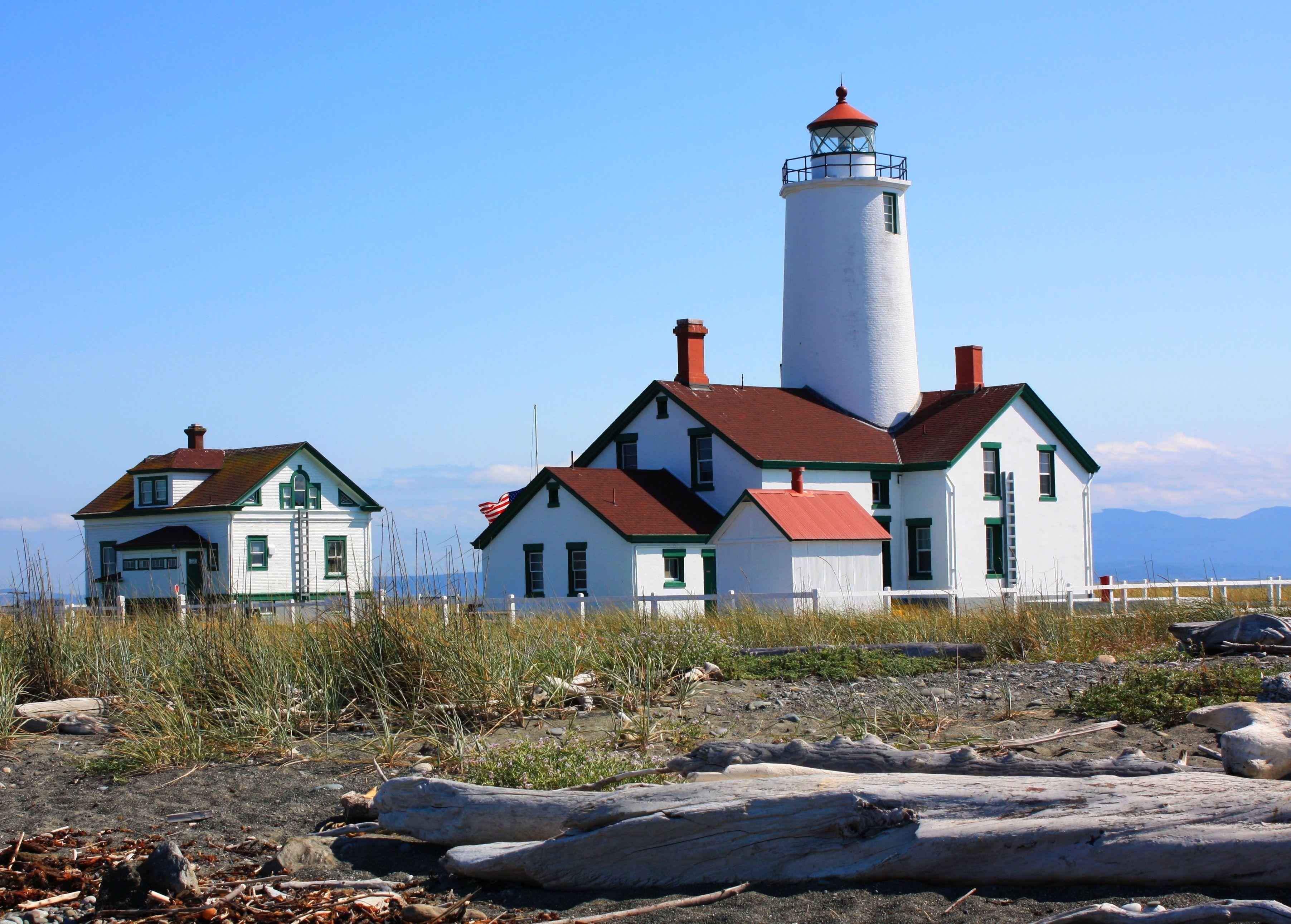 Dungeness Lighthouse,Sequim,WA   My Wonderful World