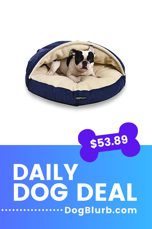 Amazon Basics Medium Pet Cave Bed Dog Bed Furniture Pets Dog Deals