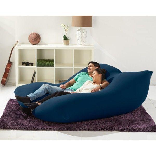 Double Bean Bag Chair For 2 Bean Bag Bed Bean Bag Sofa Bean Bag Bed Bean Bag Chair