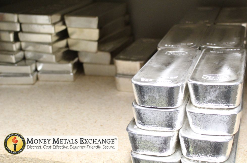 100 Oz Silver Bars For Sale 100 Troy Weight Bullion Money Metals Exchange Llc In 2020 Silver Bars Gold Silver Coins Gold Money