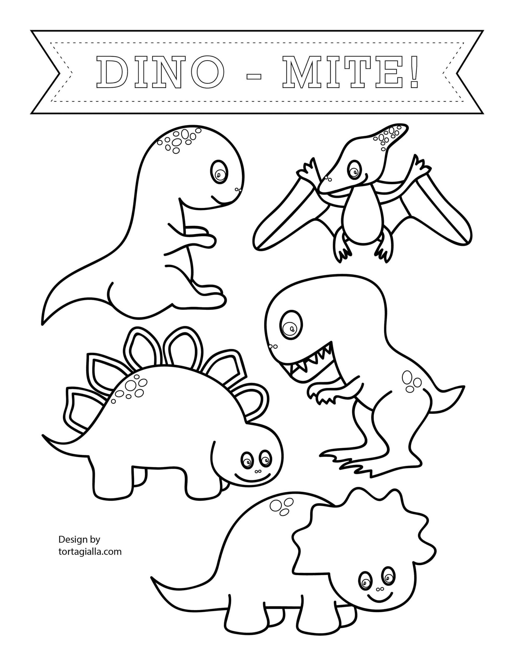 Happy Birthday Dinosaur Coloring Pages Coloring Pages ...