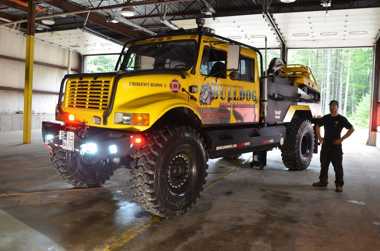 Off Road Fire Truck >> Bulldog 4x4 Fire Truck For Sale 2 000 Gallons Of Go