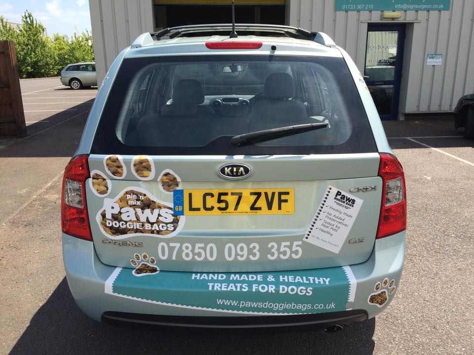 Custom car graphics and stickers by sign surgeon peterborough cambridgeshire
