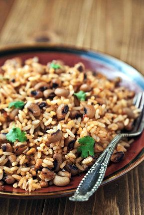 Cajun Black Eyed Peas & Rice