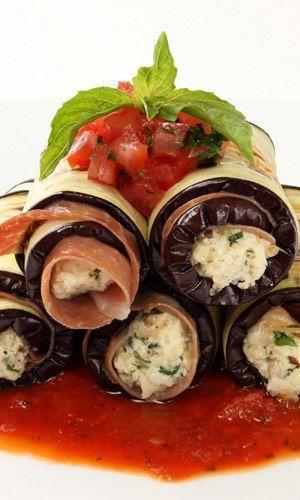 Prosciuto & Eggplant Rolatini