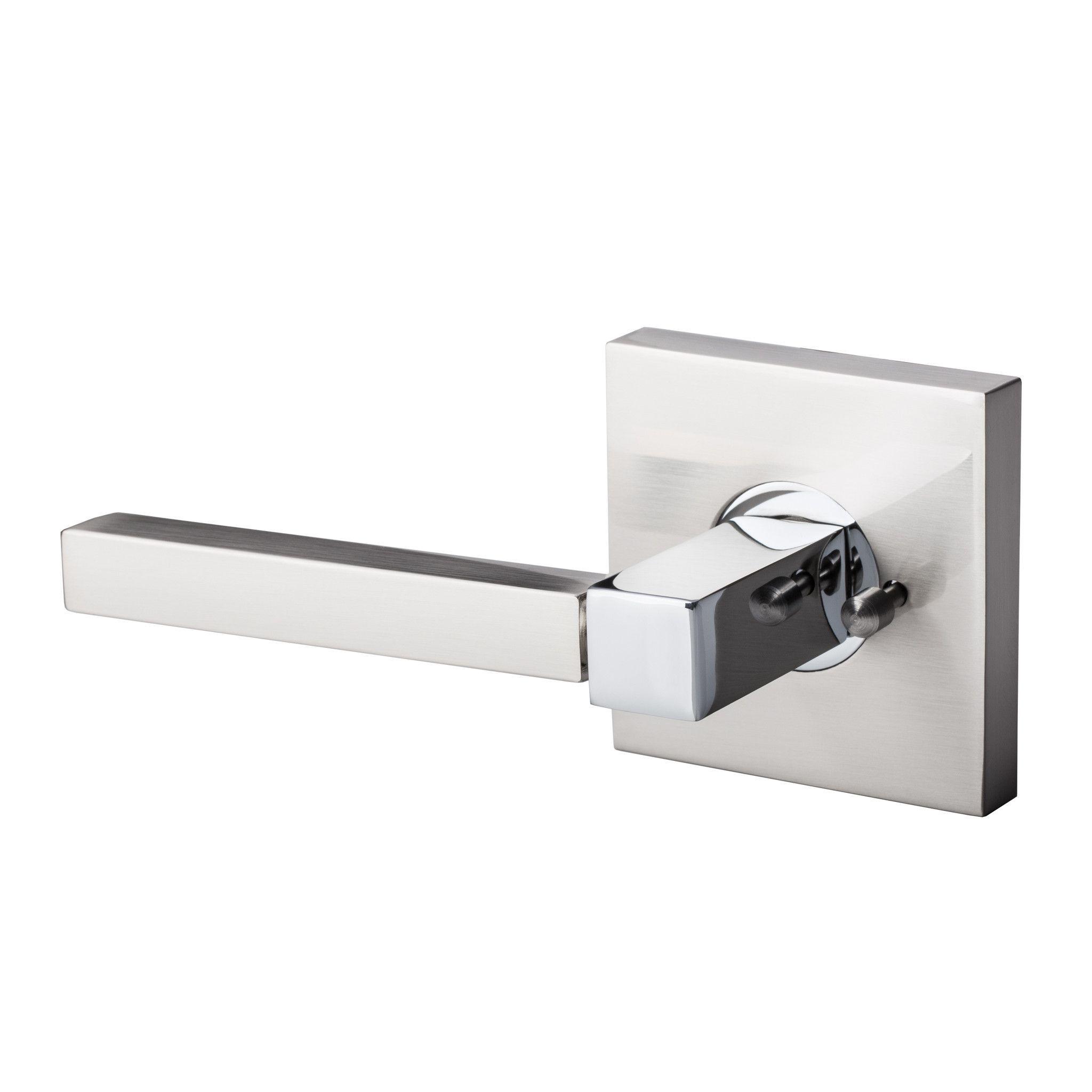 Bai 3028 Modern Passage Door Handle Lever Set With Privacy Pin Function Door Handles Modern Door Handles Bathroom Door Handles