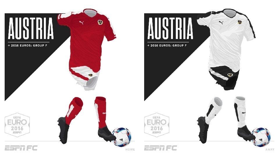 ec4a8e8db23ac Camisa da Seleção da Áustria Eurocopa 2016-2017 Puma