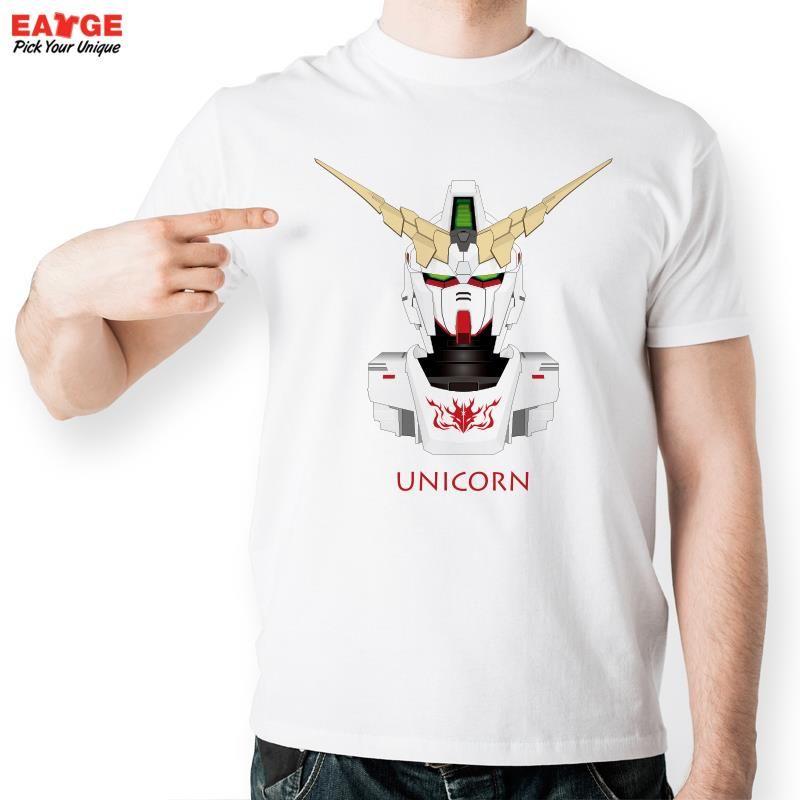 a43893ee6ba Anime Unicorn Gundam T Shirt Design From Japanese Cartoon T shirt Style  Cool Fashion Casual Novelty Tshirt Men Women Printed Tee-in T-Shirts from  Men s ...