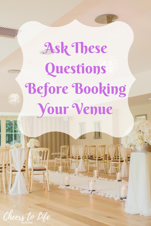 Wedding 101 Choosing A Venue In 2020 Wedding Planning Venues Wedding Tips