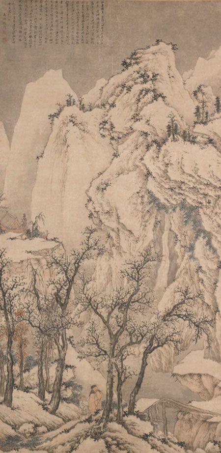 SHEN ZHOU (1427-1509), SNOWY LANDSCAPE