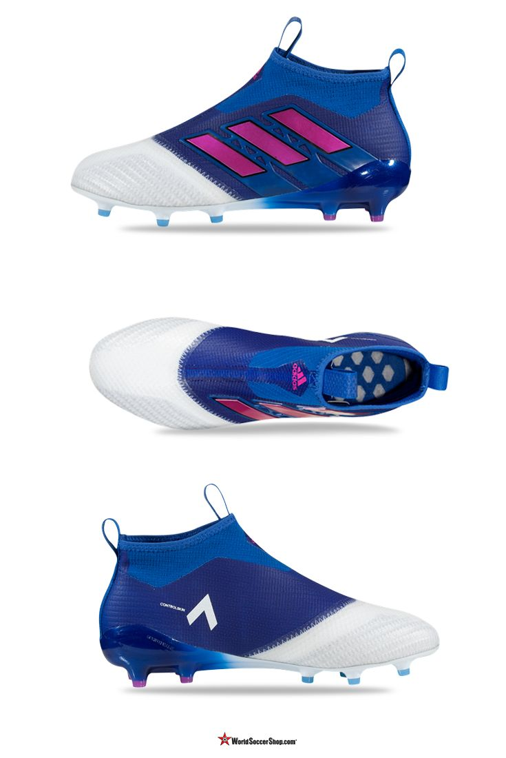 fbbfe678653 adidas ACE 17+ Purecontrol FG Blue Blast Pack The first ever laceless cleat  has now received its first upgrade. The ACE 17+ Purecontrol is ready