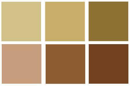 Resultado de imagen para gama de colores cafes y beige - Tonos de pintura ...
