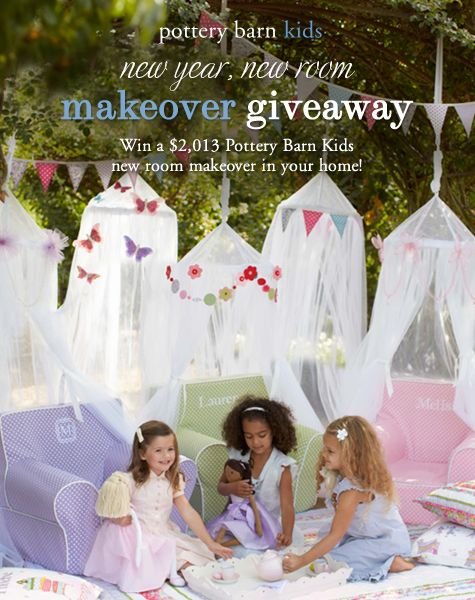 Start The New Year With A 2 013 Pottery Barn Kids Room