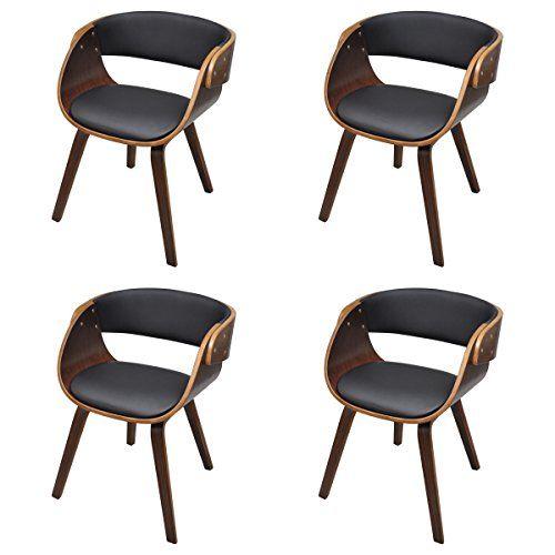387 4 x esszimmer stuhl stühle sessel esszimmerstühle holzrahmen, Esszimmer dekoo
