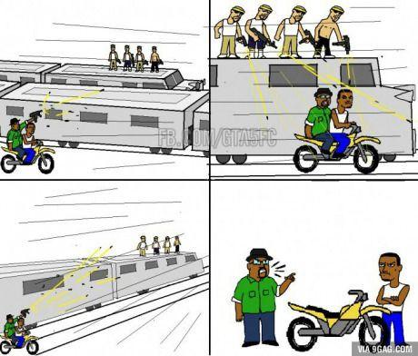 104521 Big Smoke Carl Johnson Exploitable Meme Follow The