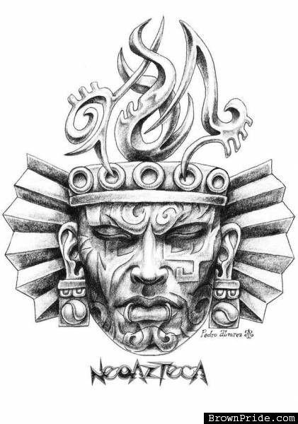 Pin De Luis Torres En Para Tatuajes Pinterest Tatuaje Azteca