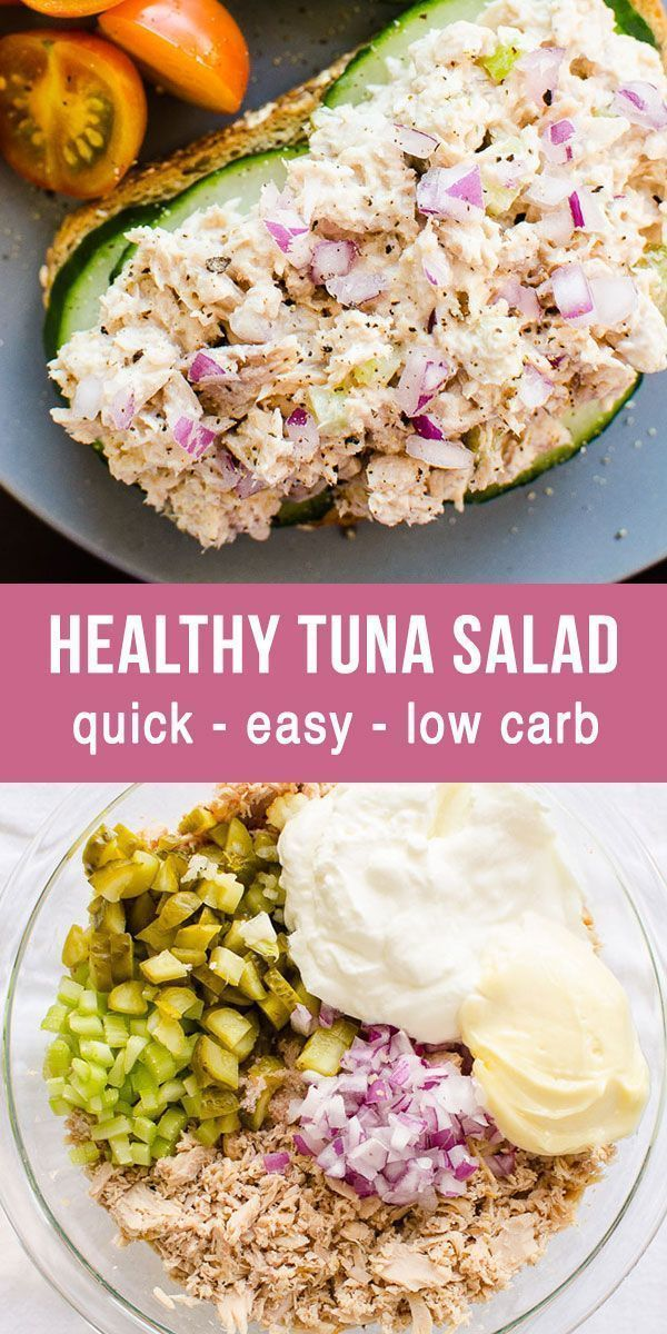Photo of Healthy Tuna Salad (That Tastes Good) – iFOODreal – Healthy Family Recipes