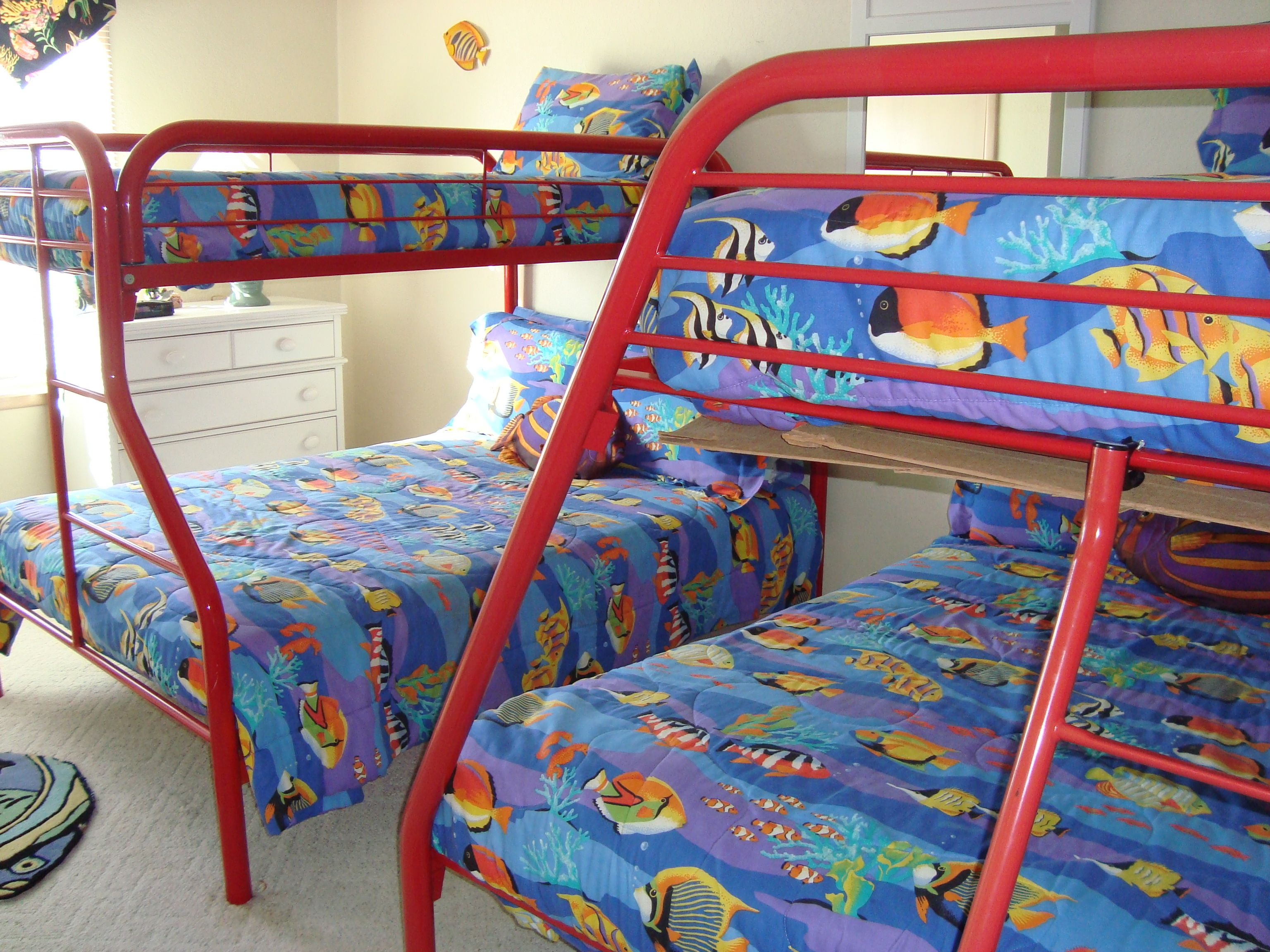 Best 2Nd Bunk Bed Room Full Bed On Bottom Home Decor Bunk 400 x 300