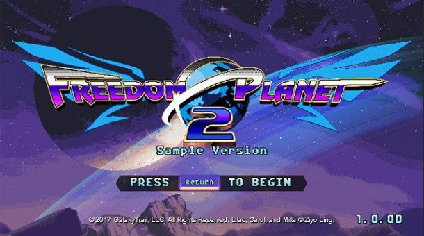 Freedom Planet 2 Demo Released  http://www.noobfeed.com/news/4275/freedom-planet-2-demo-released