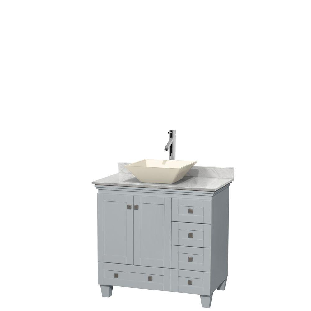 Wyndham Collection Acclaim 36 In W X 22 In D Vanity In Oyster