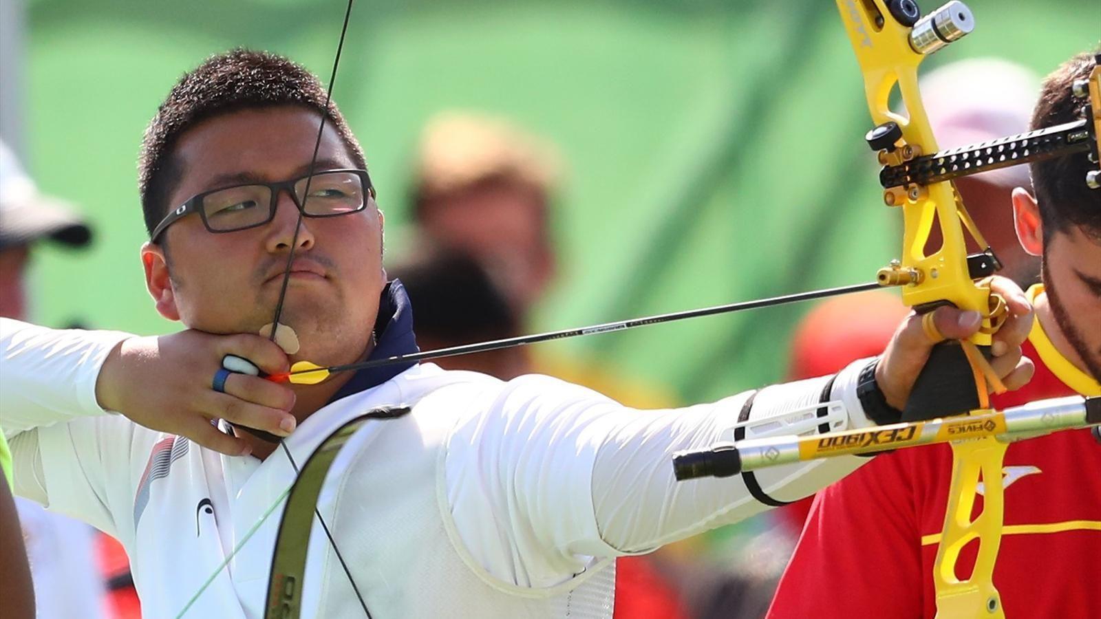 RIO 2016 Brilliant Kim sets 72arrow world record http
