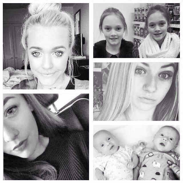 Phoebe And Daisy Tomlinson 2014