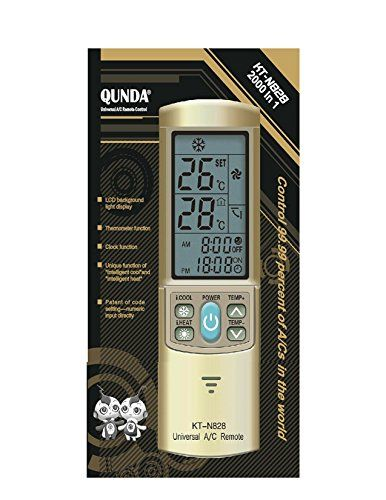 GOLD COLOR AC Remote Control For Carrier, Trane, Toshiba