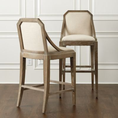 With Its Sleek Down Swept Arms Our Kinley Stool Cradles
