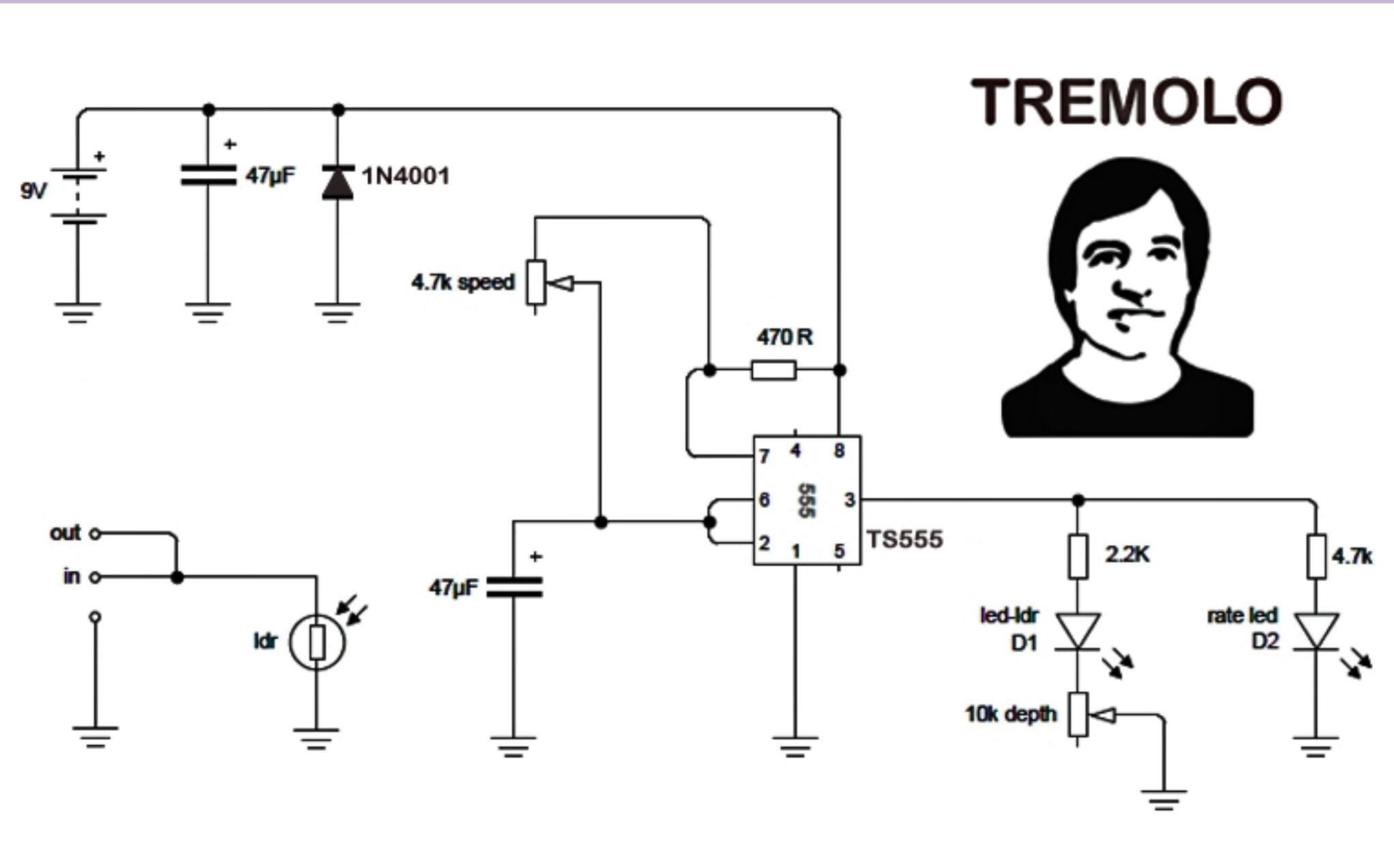 diy guitar pedals schematics