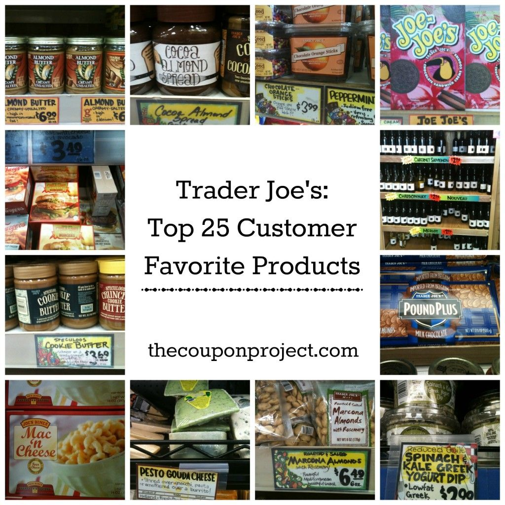 Trader Joe\'s Top 25 Customer Favorite Products | Frugal, Meals and ...