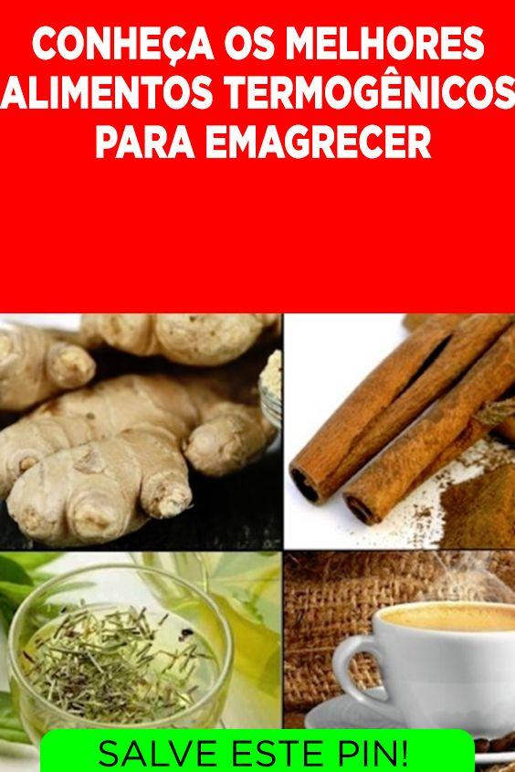 Top 24 Alimentos Termogenicos Para Emagrecer Conheca Os Melhores