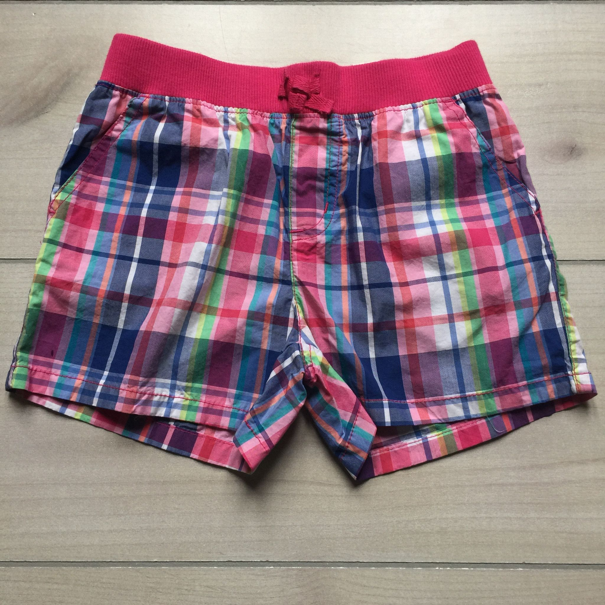 NEW Children's Place Pink Plaid Shorts