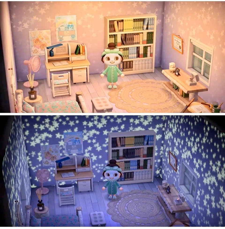 Starry Wall Looks Amazing At Night Animalcrossing In 2020 New Animal Crossing Animal Crossing Animal Crossing Wild World