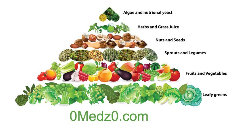 Piramide De Nutricion Dieta Cruda Vegan Food Pyramid Food Pyramid Raw Food Diet